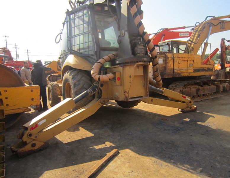 Backhoe loader CATERPILLAR 416E - Truck1 ID: 3189651