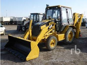 Backhoe loader CATERPILLAR 424B 4x2