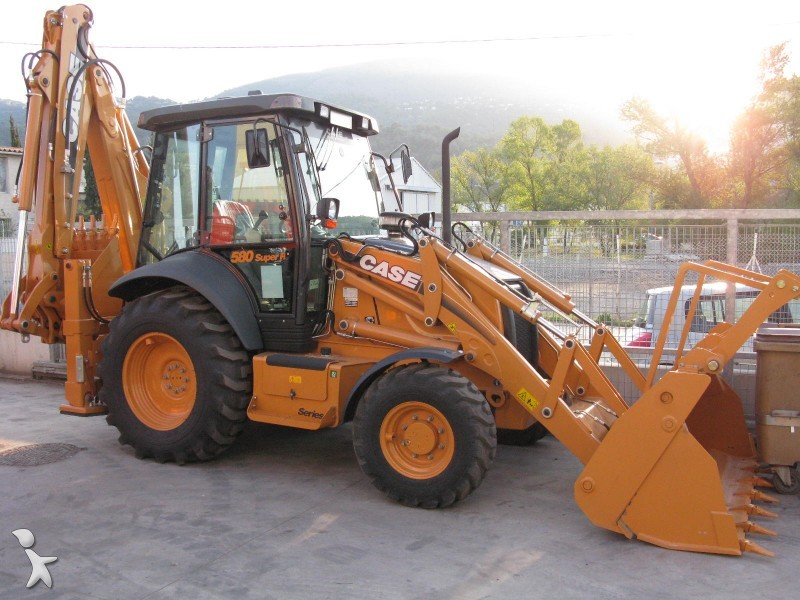 Case 580 Super R Series 3 Hydraulic backhoe loader from