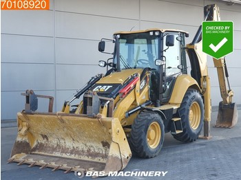 Backhoe loader Caterpillar 428F2 LIKE NEW - LOW HOURS - CE