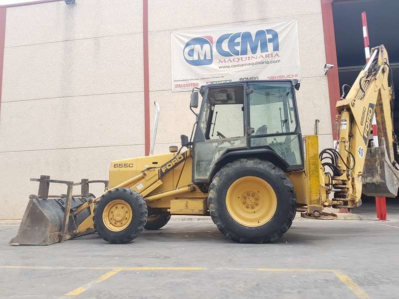 Ford New Holland >> Backhoe Loader Ford New Holland 655 C Truck1 Id 3236779