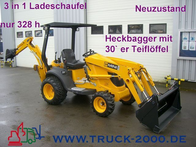 Beliebt Bevorzugt New JCB CX Mini Bagger Lader im Neuzustand backhoe loader for sale @DZ_19