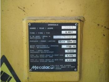 Mecalac 12MXT - backhoe loader