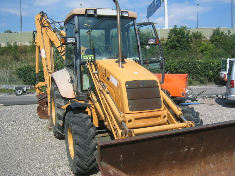 New holland nh 95 backhoe loader from austria for sale at truck1 backhoe loader new holland nh 95 picture 1 sciox Choice Image