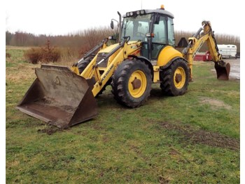 Backhoe loader New Holland B 115-4PS