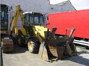 New Holland LB 95, Grabbagger + Anleger - backhoe loader