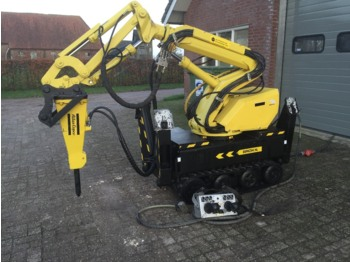 Construction machinery Brokk Thordab DMX520 Slooprobot