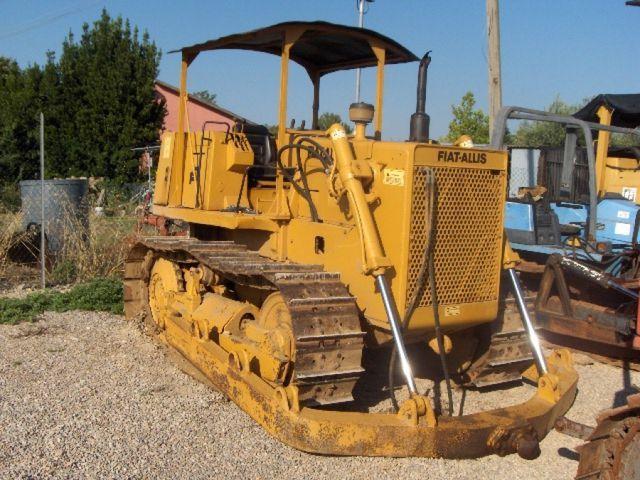 Fiat Allis 8b Dozer Parts : Fiat allis b bulldozer from italy for sale at truck