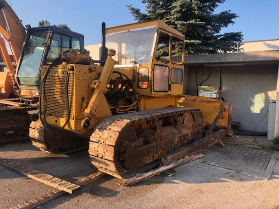 fiat fl 14 o schubraupe 3 1 meter breit bulldozer from austria for sale at truck1 id 4632032 truck1 eu