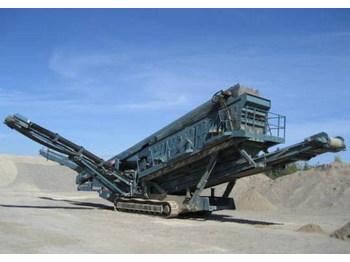 Chieftain powerscreen 2400 - construction machinery
