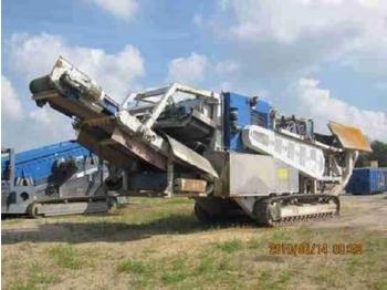 Concasoare mobile: Concasor cu falci si ciur Kleemann MRB 102  - construction machinery