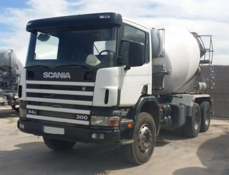 camion hormigonera scania 300 6x4 2002 8m3 concrete mixer from spain for sale at truck1 id 1871005. Black Bedroom Furniture Sets. Home Design Ideas