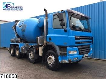 Concrete mixer DAF 85 CF 340 8x4, Stetter, Beton / Concrete mixer, Manual, Steel suspension, Airco