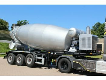 EUROMIX MTP 12m³ Betonmsicher Auflieger  - concrete mixer
