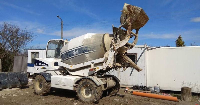 Fiori 460 Cbv.Fiori Db 460 Cbv Concrete Mixer From Poland For Sale At Truck1 Id