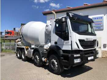 Concrete mixer Iveco TRAKKER AD340T41B 8x4 Betonmischer Stetter 9m³