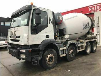Concrete mixer Iveco TRAKKER AD340T41B 9M3 MIXER