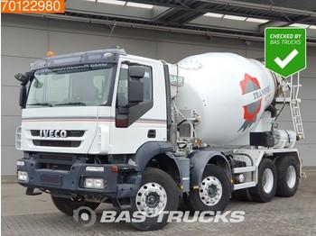 Concrete mixer Iveco Trakker AD340T41 8X4 Imer Big-Axle Steelsuspension EEV