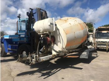 Scania P93 280 6X4 MANUAL FULL STEEL LIEBHERR concrete mixer from