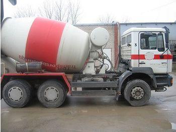 MAN 26.314, 6x4 - concrete mixer