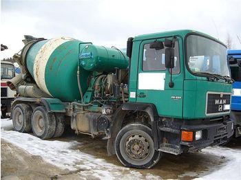 MAN 26.332, 6x4 - concrete mixer