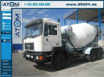 MAN 28.322 6x4 - concrete mixer