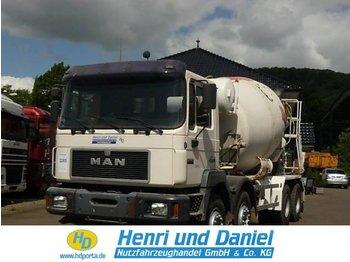 MAN 32.343 8x4 Tempomat - concrete mixer