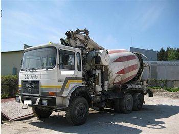 MAN 33.331, 6x4 - concrete mixer