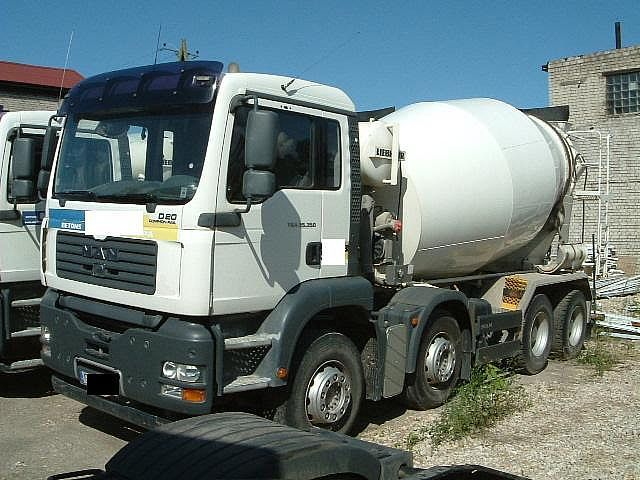 man 10 m3 concrete mixer from latvia for sale at. Black Bedroom Furniture Sets. Home Design Ideas