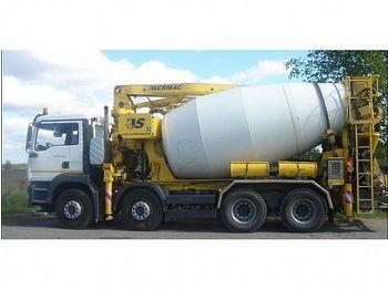 MAN 35.400, 24 meter, 9m3 - concrete mixer