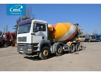 Concrete mixer MAN 41.414 41.413