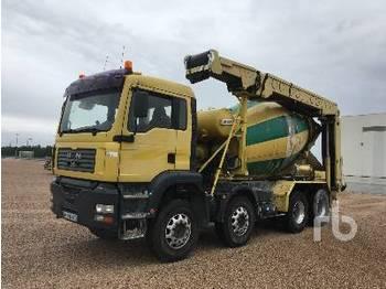 MAN TGA35.360 8x4 With Conveyor - concrete mixer
