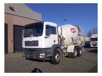 MAN TGA 26.310  6x4 - concrete mixer