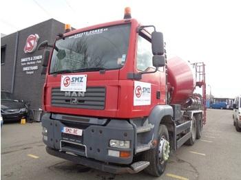 Concrete mixer MAN TGA 26.350 7m2