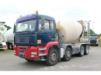 Concrete mixer MAN TGA 32390 8X4