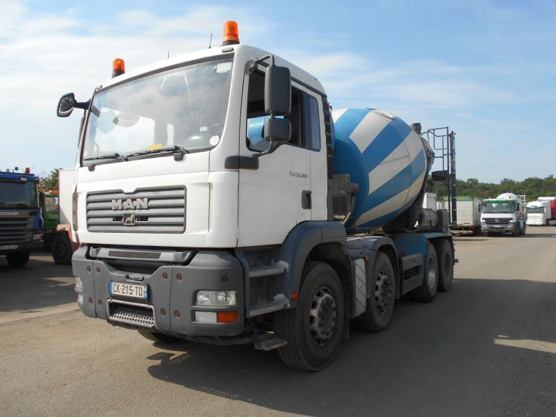 concrete mixer MAN TGA 32.360