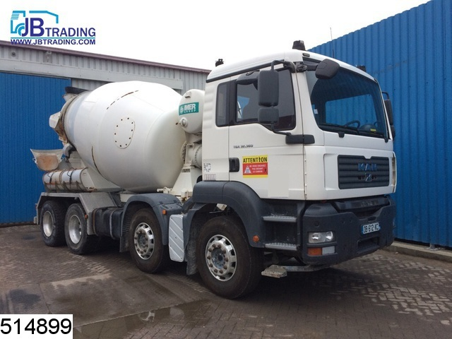 Concrete mixer MAN TGA 32 360 8x4, Imer LT8XL7 beton mixer, Manual, 8x4,  8 5 / 9 5 M3 mixer, Steel suspension - Truck1 ID: 2287663