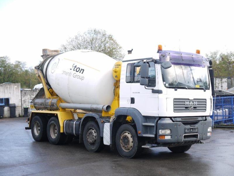 Concrete mixer MAN TGA 32 360 Betonmixer *Schwing/Stetter*EURO 4* - Truck1  ID: 2183531