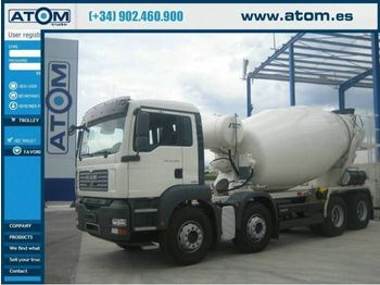 MAN TGA 35.360 8x4 euro4 - concrete mixer