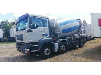 MAN TGA 35 400 8x4 Intermix 10m3  - concrete mixer