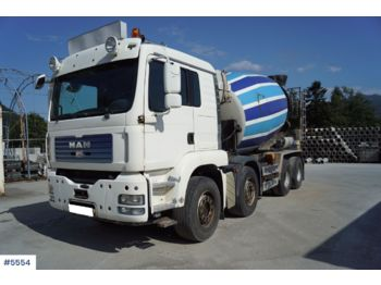 Concrete mixer MAN TGA 35.480