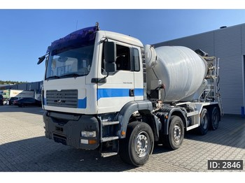 MAN TGA 41.410 Day Cab, Euro 3, ,10m³, Manual Gearbox, Full Steel - concrete mixer
