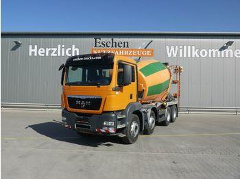 Concrete mixer MAN TGS 32.360 BB 8x4, 9m³ Stetter, Klima, Steel