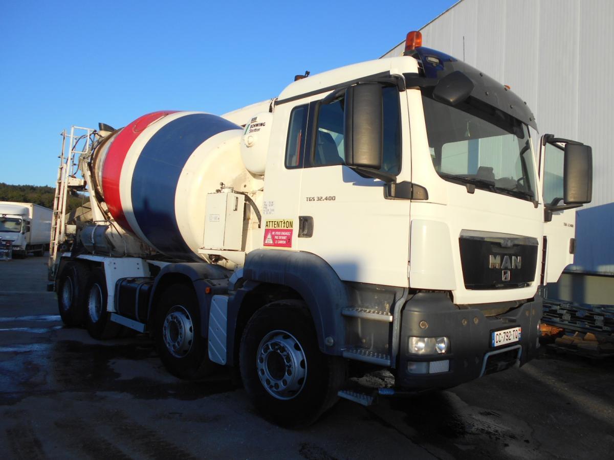 concrete mixer MAN TGS 32.400