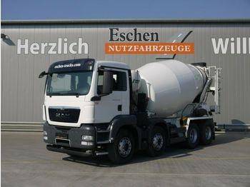 Concrete mixer MAN TGS 32.400 BB, 9m³, Klima, Blatt