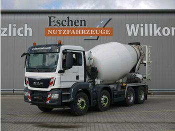 Concrete mixer MAN TGS 32.400 BB, 9m³Stetter, Klima