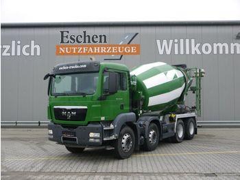Concrete mixer MAN TGS 32.400 BB, 9m³ Stetter, Klima