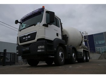 MAN TGS 32.400 BB + STETTER - concrete mixer