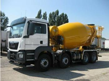 Concrete mixer  MAN - TGS 32.430 BB Stetter UltraEco AUT/NAVI/SMART