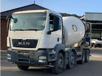 Concrete mixer MAN TGS 35360 8X4   9m³  Euro 5